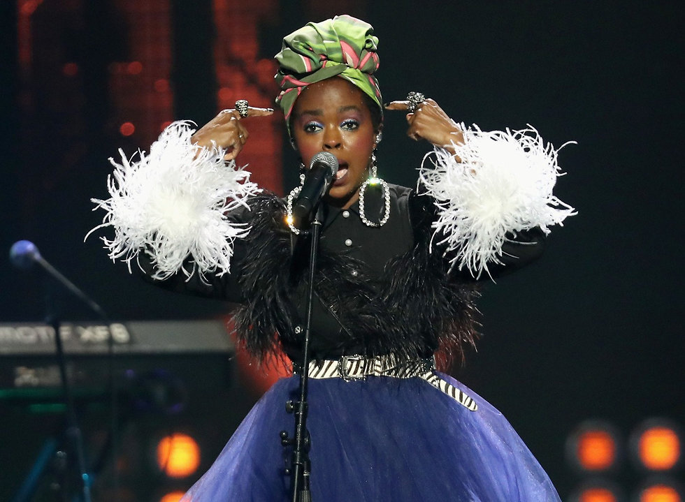 Lauryn Hill (צילום: Kevin Kane/Gettyimages IL)