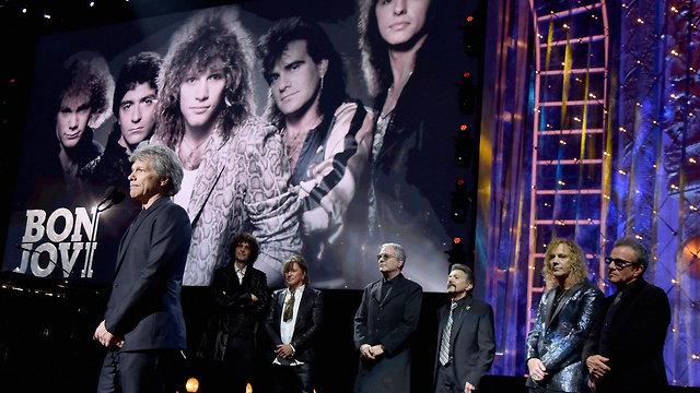 Bon Jovi (צילום: Theo Wargo/Gettyimages IL)