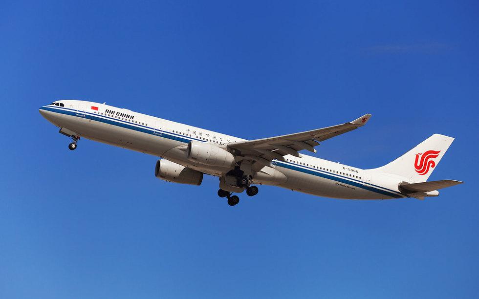מטוס נוסעים של אייר צ'יינה (צילום: shutterstock)