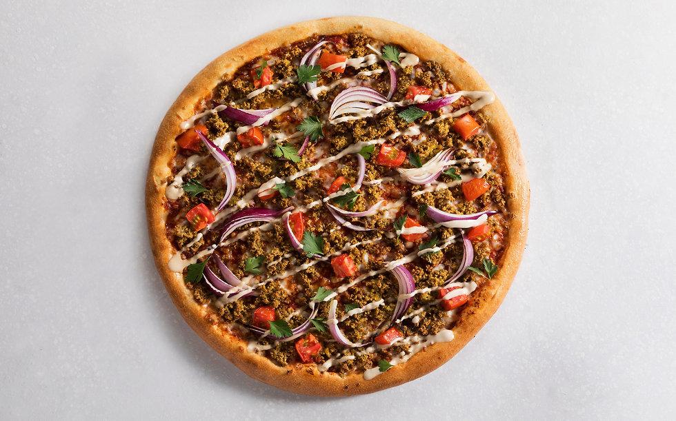 פיצה פלאפל (צילום: דניאל לילה)