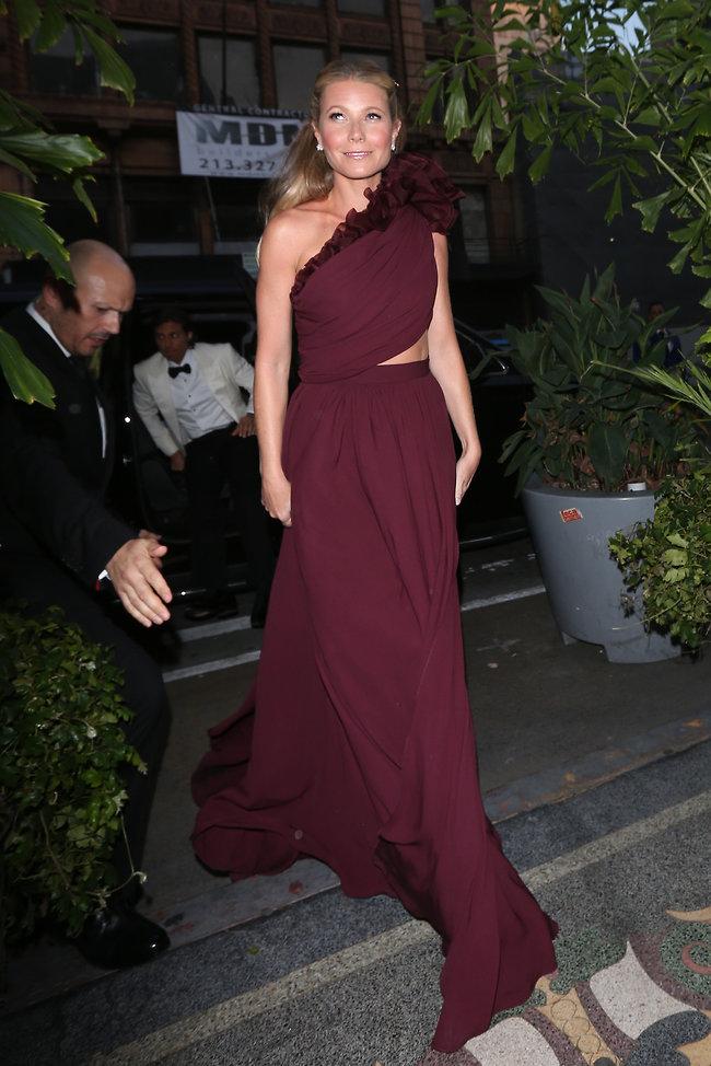 שמלה של נסיכות. גווינת' פאלטרו (splashnews)