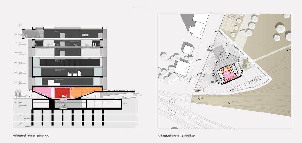 ''רצינו מבנה שיש בו אינטראקציות אחרות מאשר רק לבוא, לעשות מסלול וללכת'', אומרת האדריכלית. כך, יהיו גם תיאטרון, בית קפה שפונה לכיכר ומסעדת גג עם נוף למפרץ ולטיילת (תוכנית: אפרת – קובלסקי אדריכלים ו- HEIDE & VON BECKERATH Architects)