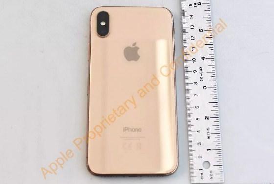 האם נראה אייפון X מוזהב? (צילום מסך)