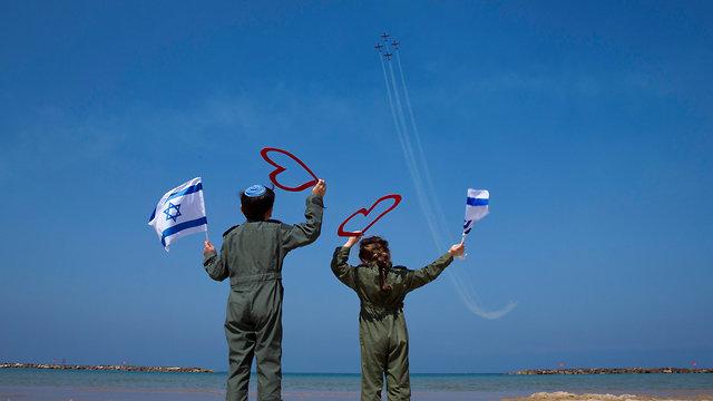 חזרות למטס, תל אביב (צילום: AP)