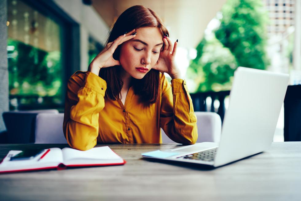 עייפה, עצבנית או מדוכאת? יכול להיות שהבעיה היא בבלוטה (צילום: Shutterstock)