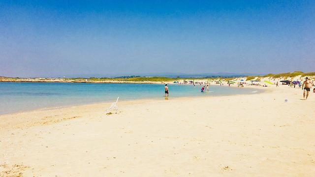 חוף הבונים (צילום: שירי הדר)