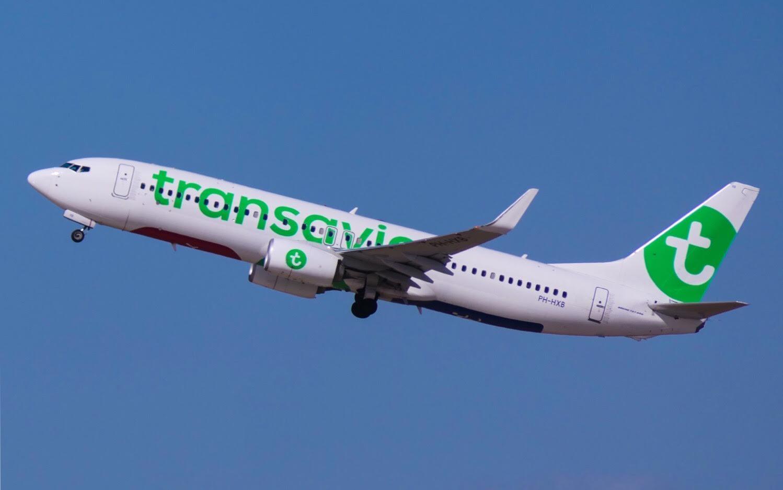 חברת טראנסאוויה מגיעה לאילת (צילום: דני שדה)