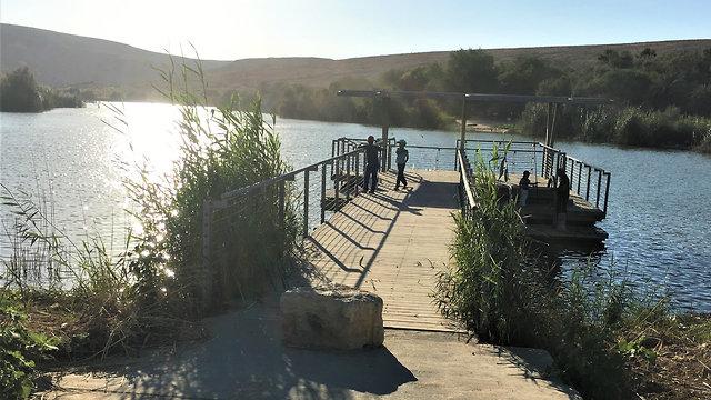 פארק אגם ירוחם (צילום: יעל לרנר)