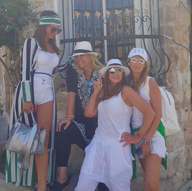 קורעות את חיפה. שנירר, רפאלי ואירית רחמים (צילום מסך)