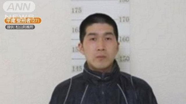 טאטסומה היראו גנב אסיר נמלט יפן ברח מ כלא בית סוהר ()