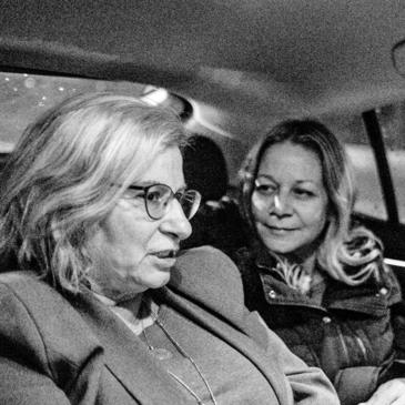 חיימוביץ' עם השגרירה תמר סם־אש | צילום: דן חיימוביץ'
