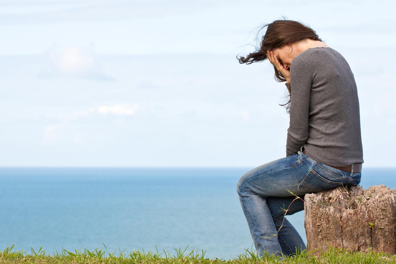 אישה בוכה (צילום: shutterstock)