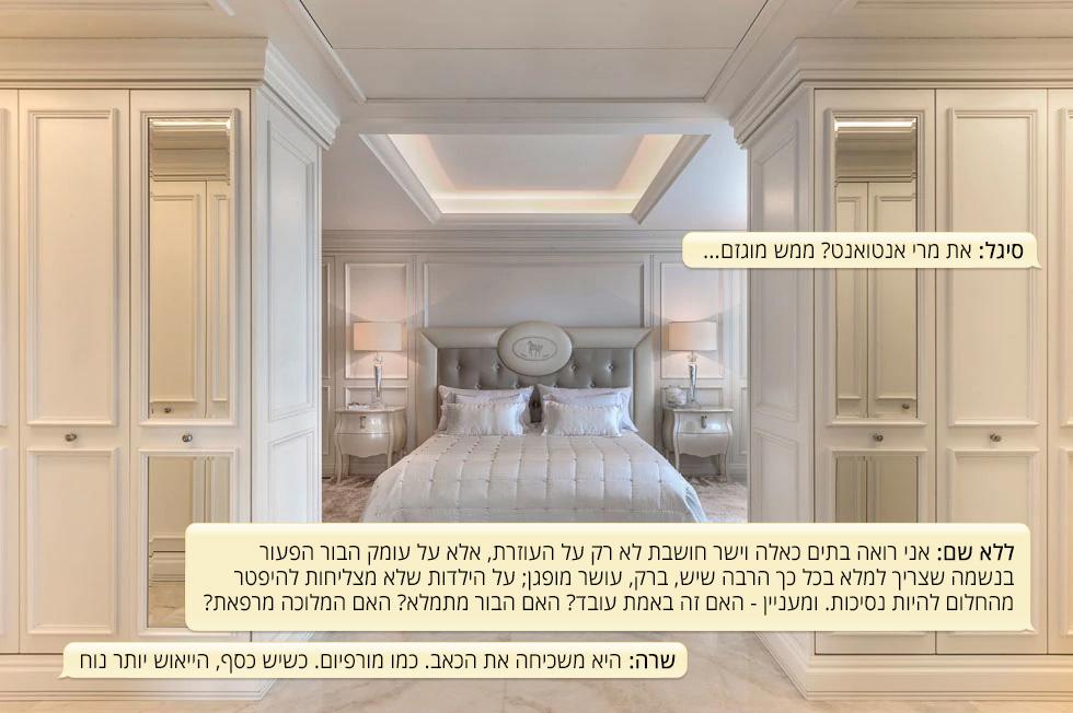 תל אביב, פרויקט בלו. דירת 300 מטרים רבועים של אשת עסקים. מעצבים: גרשון צור, אלדד מיטלמן  (צילום: עודד סמדר)