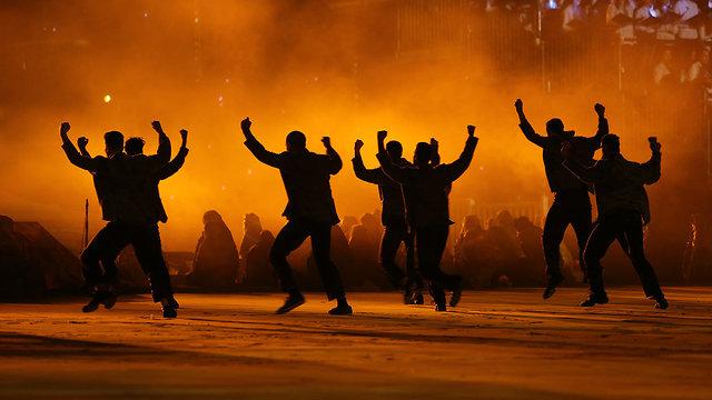 טקס יום העצמאות הר הרצל ירושלים (צילום: אלכס קולומויסקי)