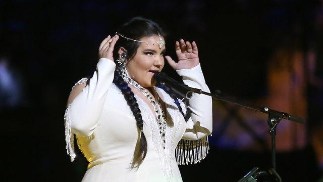 """Нета исполняет песню """"Хора"""".  Фото: Алекс Коломойский"""