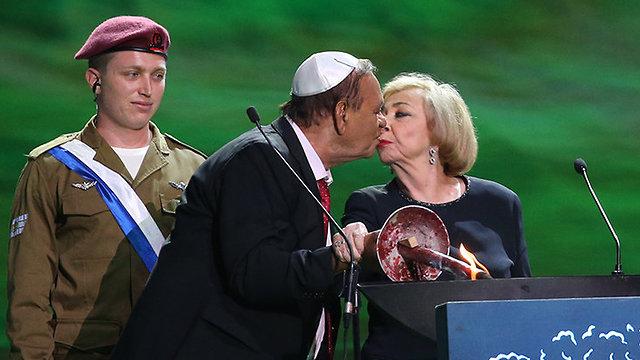 טקס יום העצמאות בהר הרצל ירושלים (צילום: אלכס קולומויסקי)