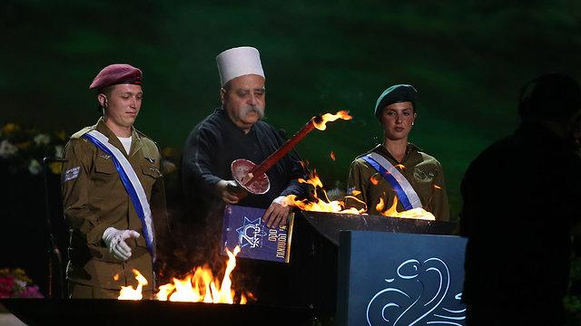 Muafiq Tarif representing Israel's Druze community (Photo: Alex Kolomoisky)