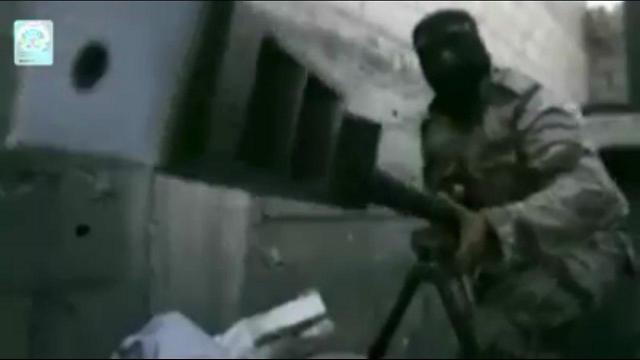 Screenshot from Islamic Jihad video