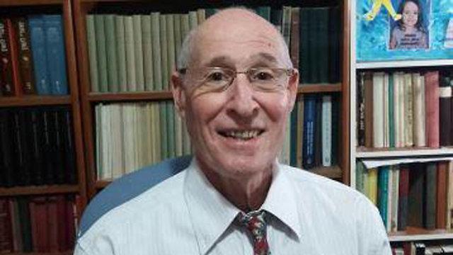 פרופסור אלישע קימרון (באדיבות  אוניברסיטת בן גוריון)