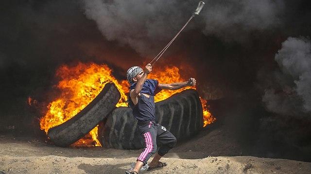Gaza's return march (Photo: EPA)