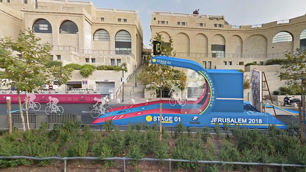 הדמיות ג'ירו איטליה בישראל (צילום: מאיה חנוך)