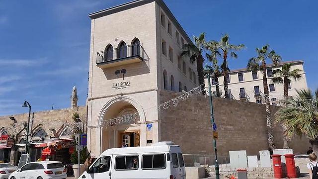 Отель Setai в Яффо. Фото: Асаф Кузин
