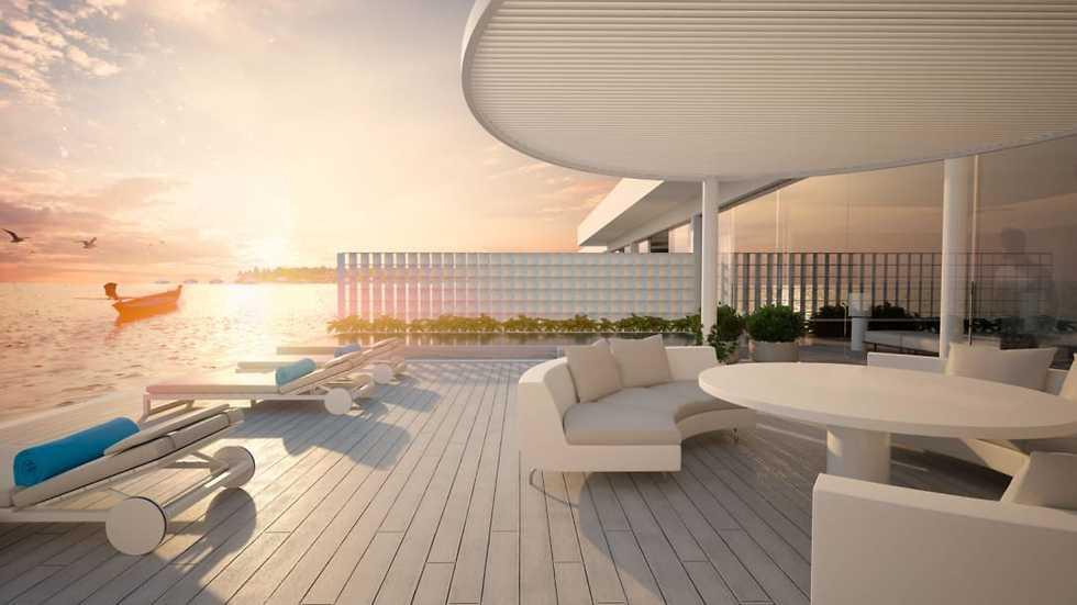וילה תת-ימית באיים המלדיביים (Conrad Hotels & Resorts)