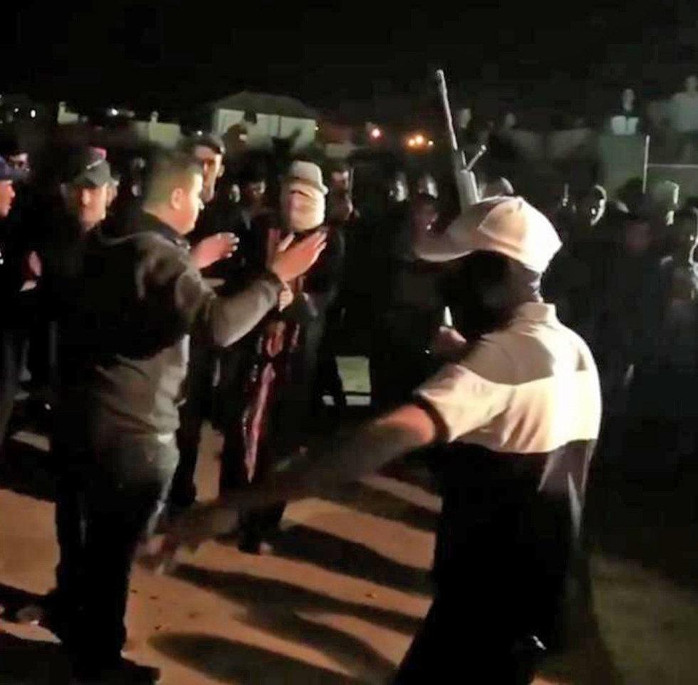 תיעוד ירי בחתונות בשגב שלום ()