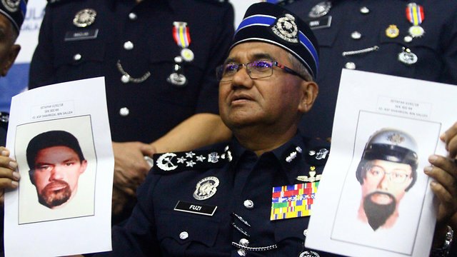 Malaysian police release facial composites of suspects in assassination (Photo: AP)