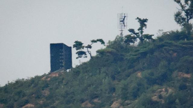 צפון קוריאה השתקת שידורי תעמולה משדרים (צילום: AFP)