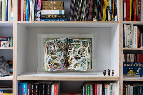 ''האנציקלופדיה כרך ה''', של לילך בר עמי (צילום: שירן כרמל)