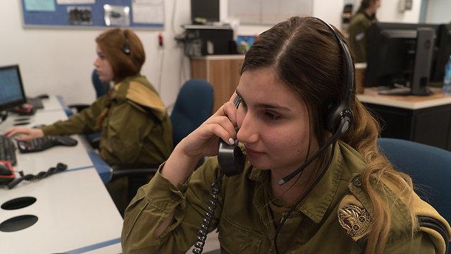 Los soldados trabajan en turnos de 4 horas seguidos de 8 horas de inactividad (Foto: Unidad del Portavoz de las IDF)