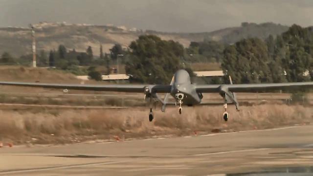 Heron drone (Credit: IAI)