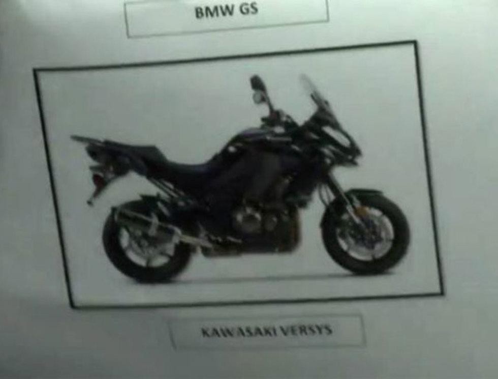Мотоцикл ликвидаторов (по версии полиции Малайзии)