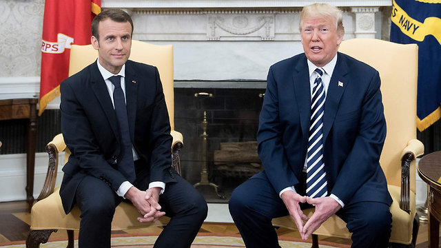Trump and Macron to discuss Iran nuclear deal (Photo: AFP)