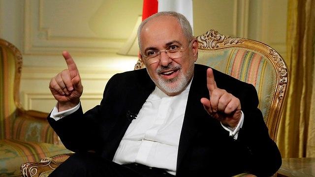 מוחמד זריף שר החוץ של איראן  (צילום: AP)