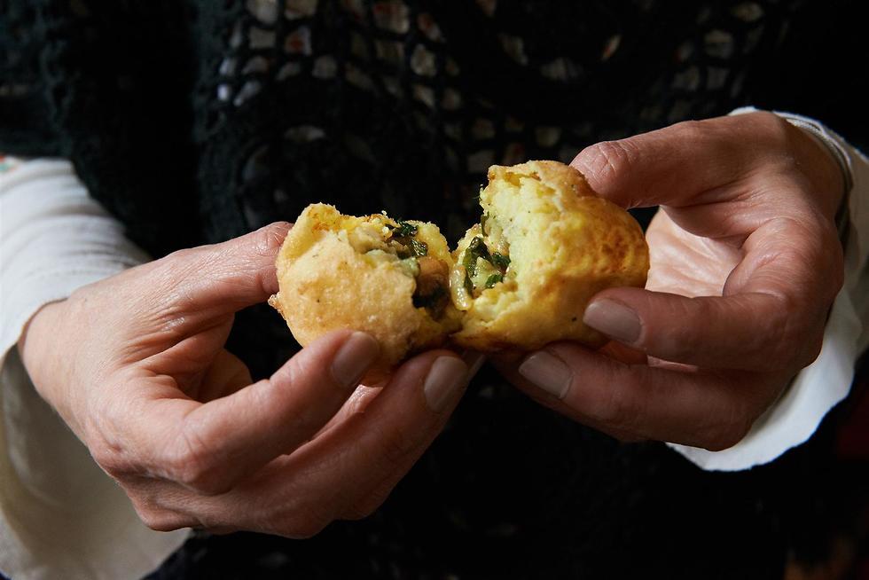אוכל טריפוליטאי (צילום: יסמין ואריה)