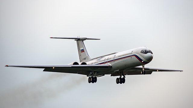 מטוס תובלה רוסי סובייטי איליושין il-76 רוסיה Ilyushin (צילום: shutterstock)
