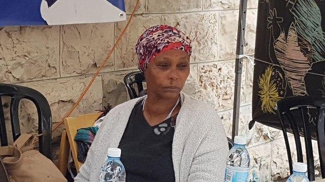 Avera Mengistu's mother  (Photo: Yishai Porat)