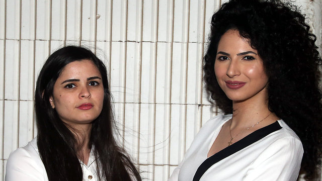 Amna Freige and Lina Jeries (Photo: Yariv Katz)