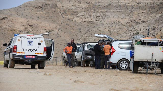 Спасательная операция в Негеве. Фото: Герцль Йосеф