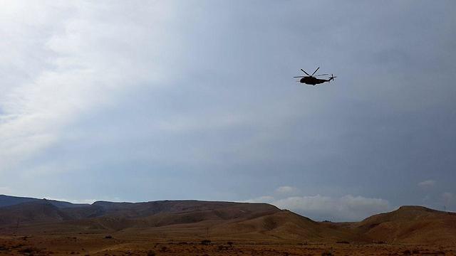 Спасательная операция в Негеве. Фото: Рои Идан