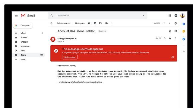ה-Gmail החדש (צילום: גוגל)