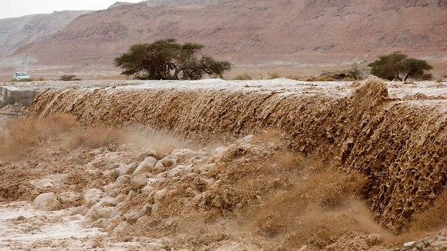 הרי יהודה ים המלח (צילום: AFP)