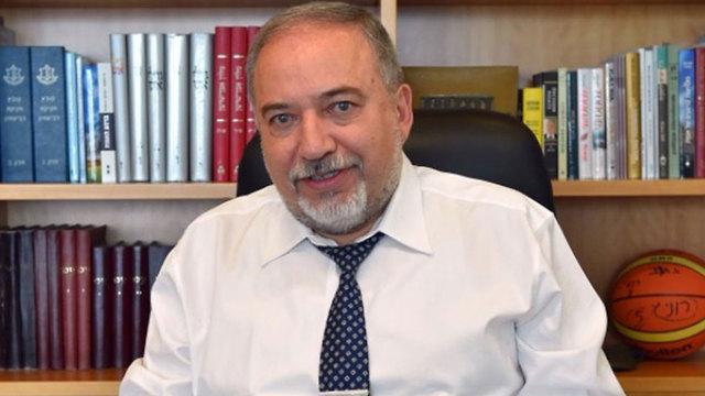 שר הביטחון אביגדור ליברמן איראן ריאיון אתר סעודיה אילאף ()