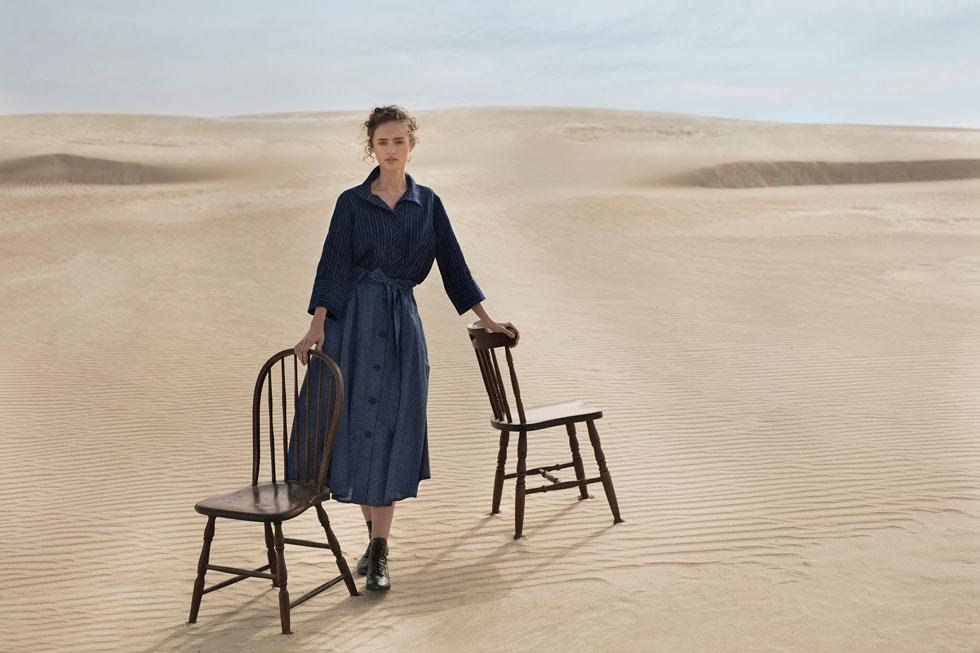 השתדלו לרכוש אופנה כחול-לבן שמיוצרת בישראל. רונן חן (צילום: דודי חסון)