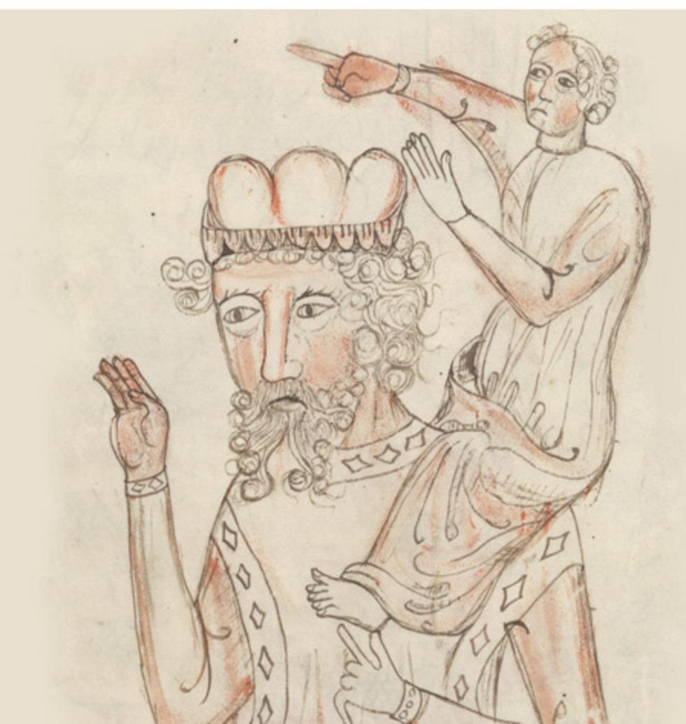 איור מהמאה ה-15, אמן לא יודע (צילום: מתוך ספר הנמצא בספריית הקונגרס האמריקני)