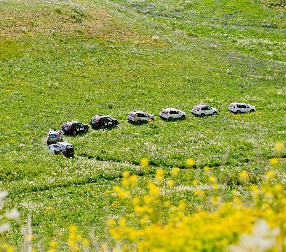 מסע מאגמה צ'אלנג' בארמניה.  (צילום: איה בן עזרי)