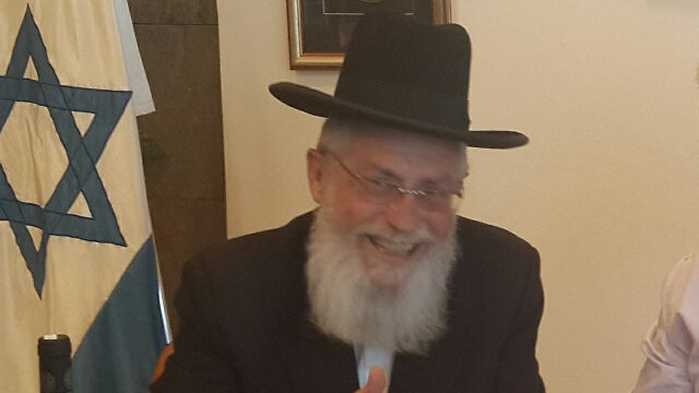 Knesset Rabbi Alexander Hochman will retire soon (Photo: Knesset website)