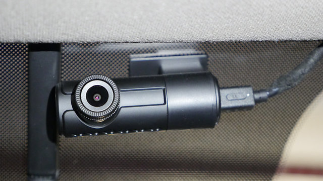 מצלמת רכב (צילום: גיא לוי)
